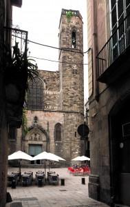 Façana de la Basílica dels Sants Màrtirs Just i Pastor